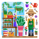 Gardening - GraphicRiver Item for Sale