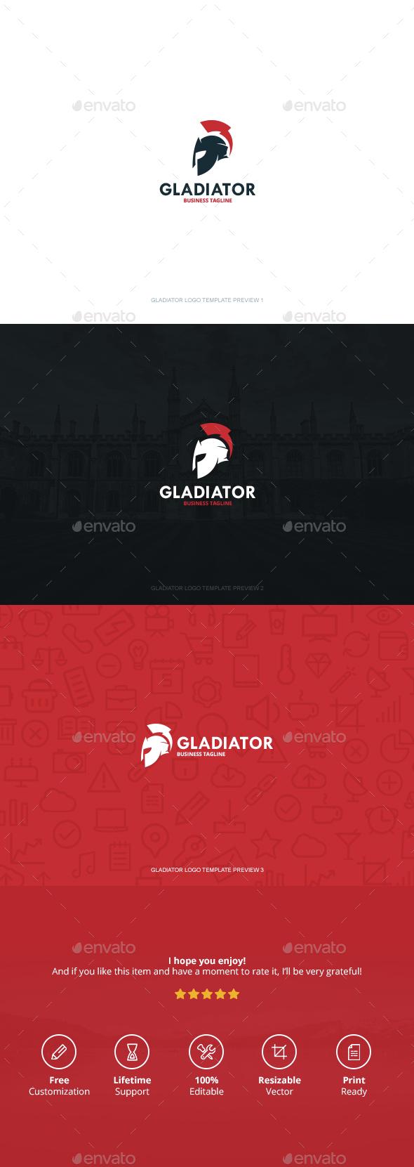 Gladiator Logo - Logo Templates