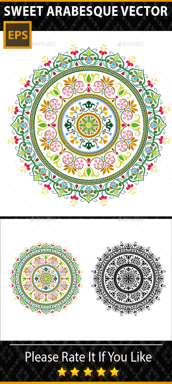 Arabesque Backgrounds - Backgrounds Decorative