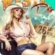 Western Party Flyer - GraphicRiver Item for Sale