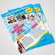 School Admission Flyer - GraphicRiver Item for Sale