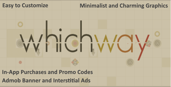 Which Way - Admob + IAP + Promo Codes - CodeCanyon Item for Sale