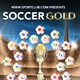 Soccer Gold Flyer - GraphicRiver Item for Sale