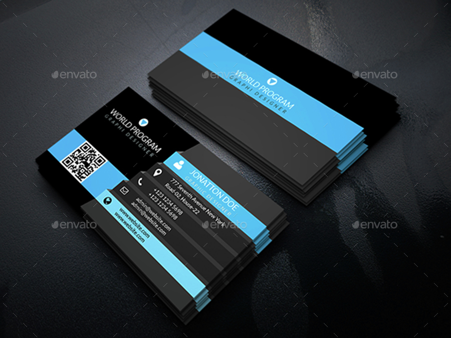Corporate Business Card Bundle.014