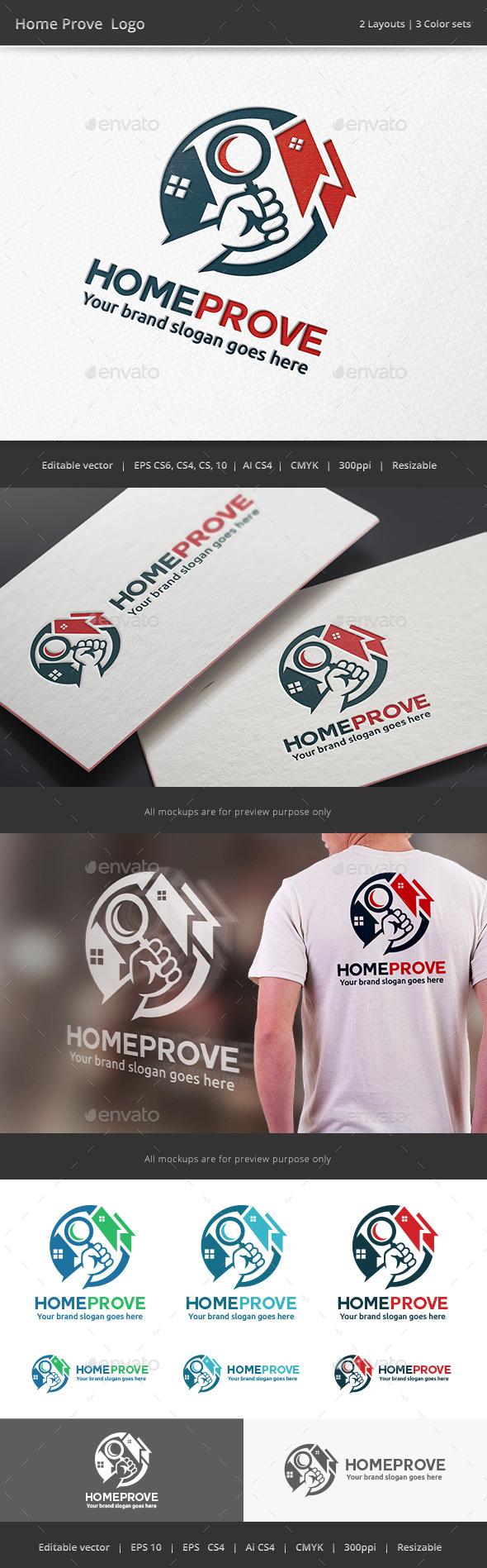 Home Prove Logo - Vector Abstract