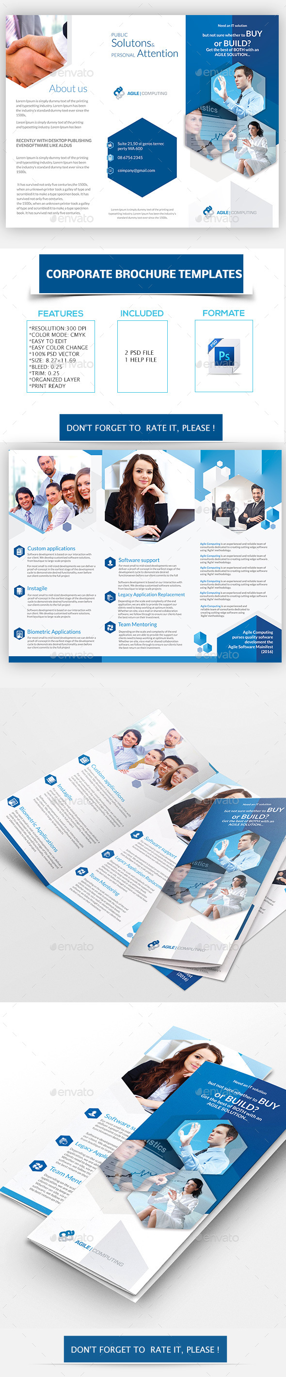 Corporate Brochure Templates - Corporate Brochures