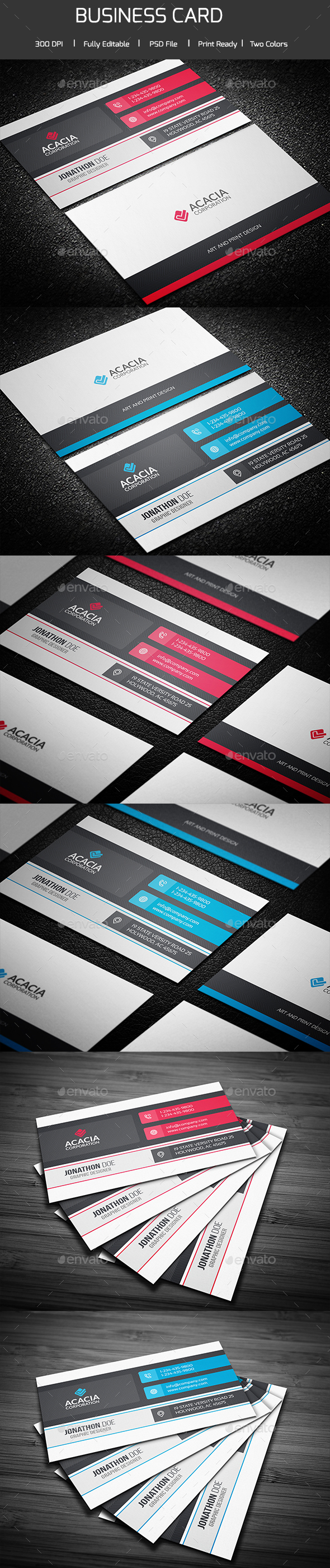 Kiron Business Card - Corporate Business Cards