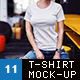 Female T-Shirt Fashion Mock-Up - GraphicRiver Item for Sale