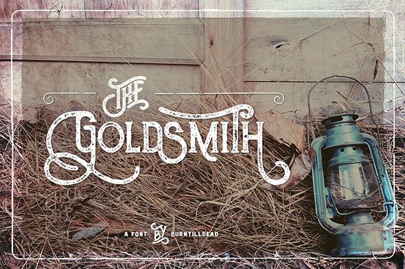 The Goldsmith - Serif Fonts