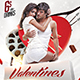 Valentines Party Flyer Template - GraphicRiver Item for Sale