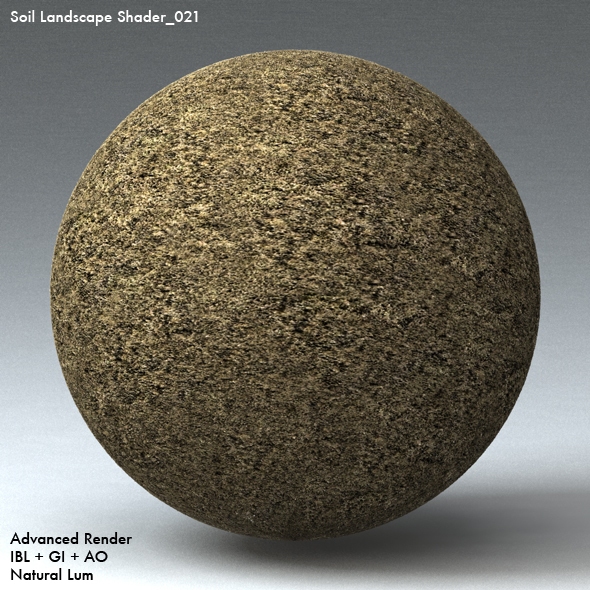 Soil Landscape Shader_021 - 3DOcean Item for Sale