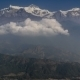 Clouds Form Below The Top Of Annapurna South - VideoHive Item for Sale