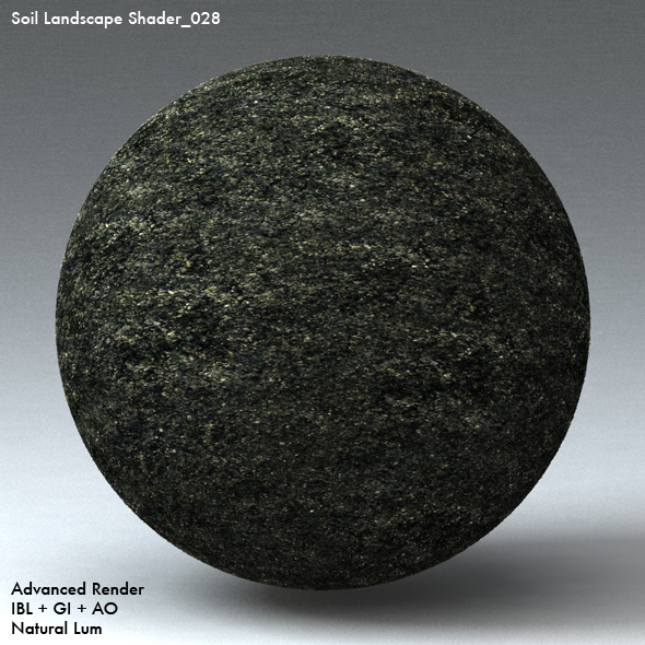 Soil Landscape Shader_028 - 3DOcean Item for Sale