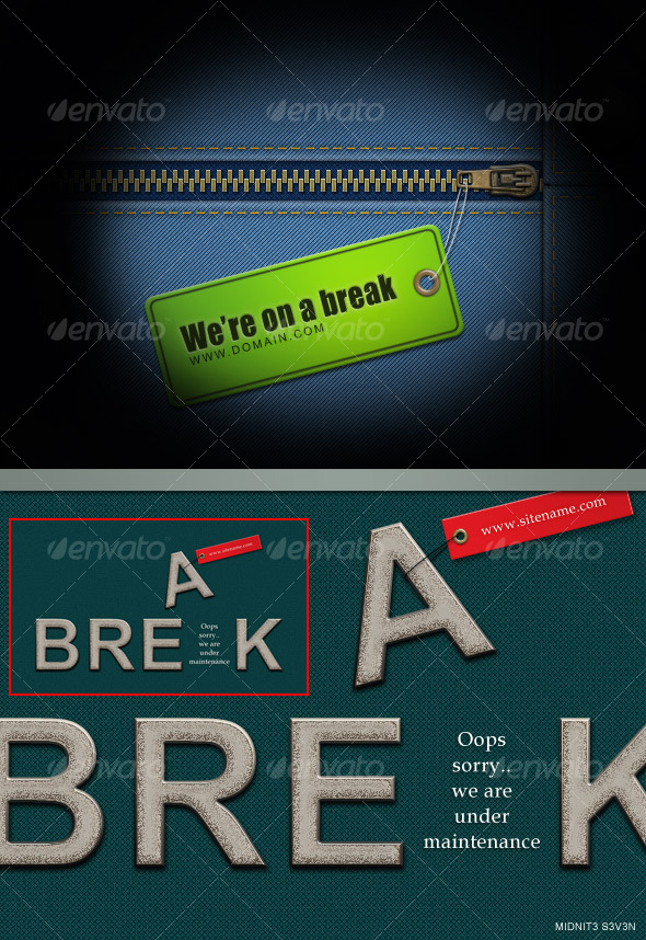 On a Break #2 - Miscellaneous Web Elements
