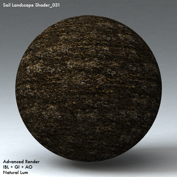 Soil Landscape Shader_031 - 3DOcean Item for Sale