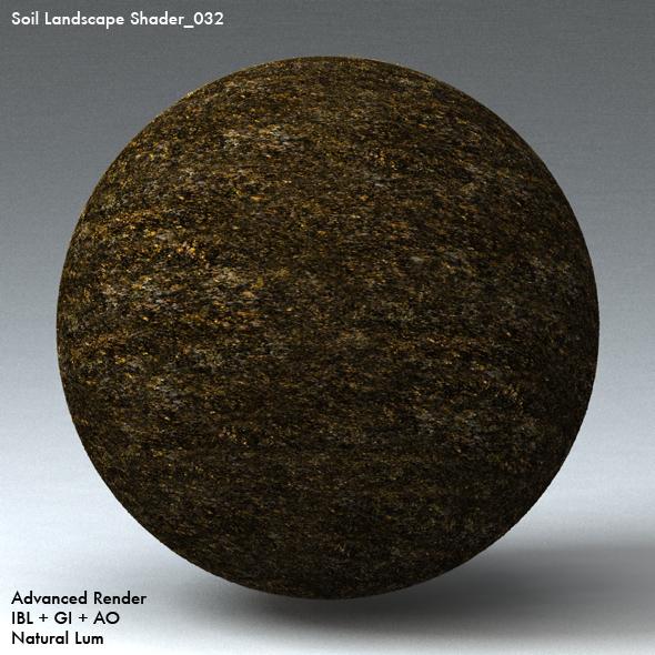 Soil Landscape Shader_032 - 3DOcean Item for Sale