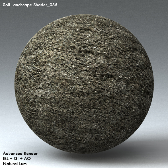 Soil Landscape Shader_035 - 3DOcean Item for Sale