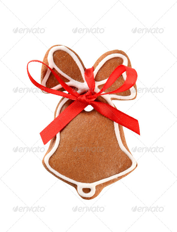 Gingerbread cookie - Stock Photo - Images