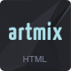 Artmix - Responsive Retina Ready One Page Template - ThemeForest Item for Sale