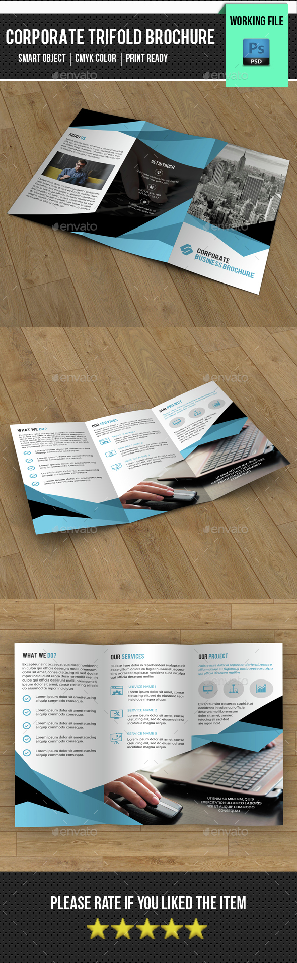 Business Trifold Brochure-V277 - Corporate Brochures