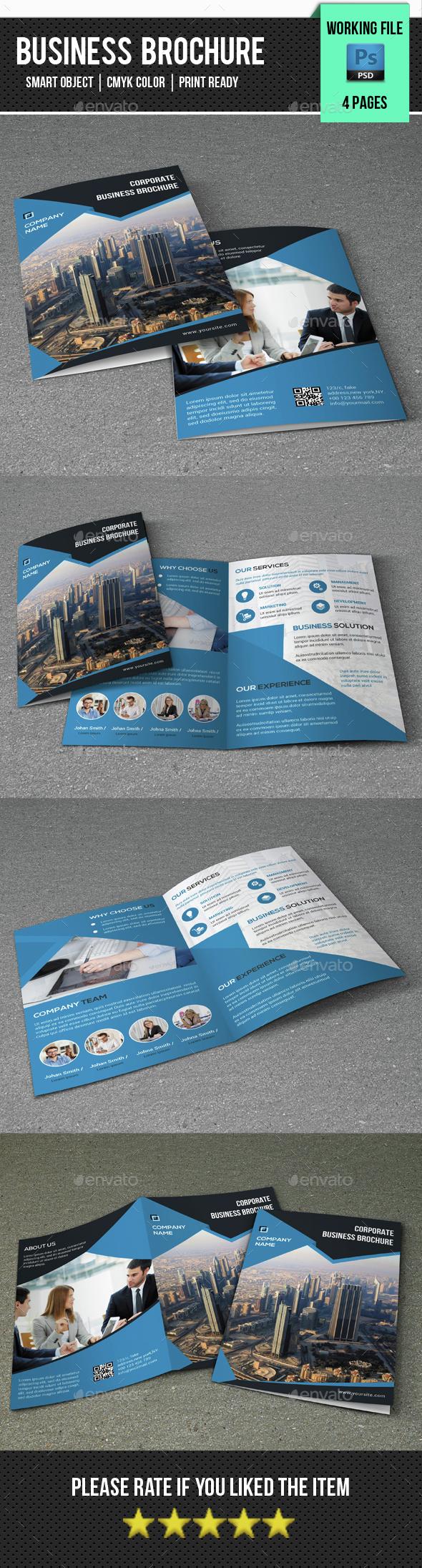 Corporate Bifold Brochure-V356 - Corporate Brochures