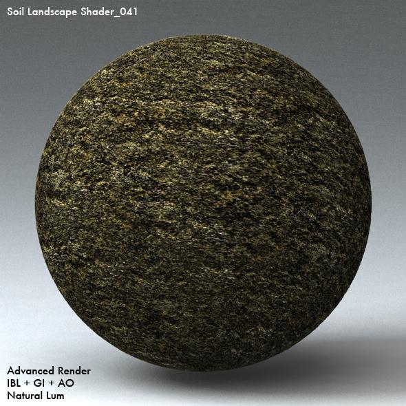 Soil Landscape Shader_041 - 3DOcean Item for Sale