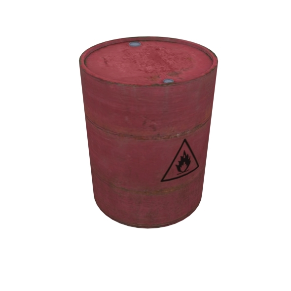Explosive Barrel - 3DOcean Item for Sale