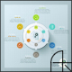 Modern Creative Process Infographic (4 Items) - GraphicRiver Item for Sale