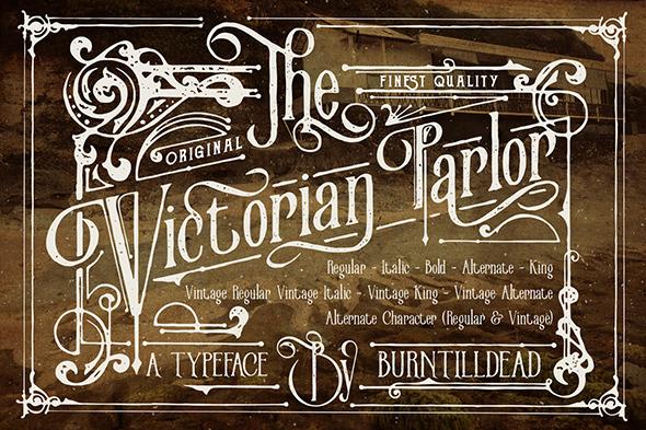 Victorian Parlor - Serif Fonts