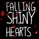 Falling Shiny Hearts - VideoHive Item for Sale