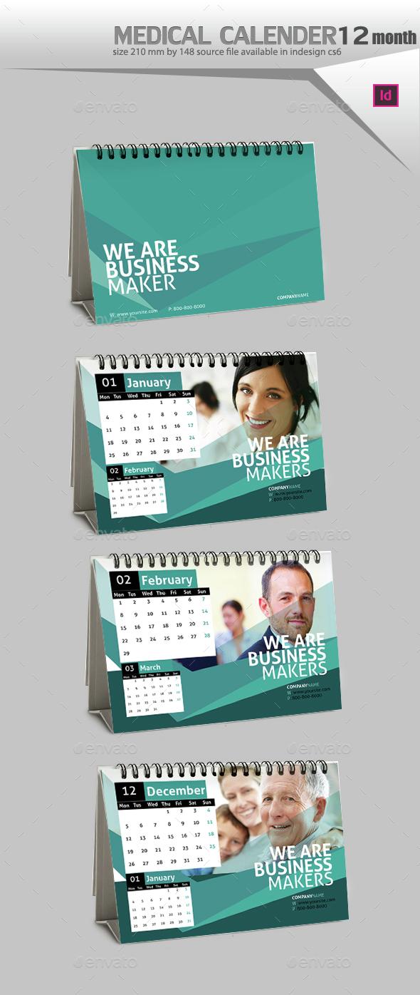 Desktop Calendar Design  - Calendars Stationery