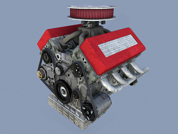 Car Engine - 3DOcean Item for Sale