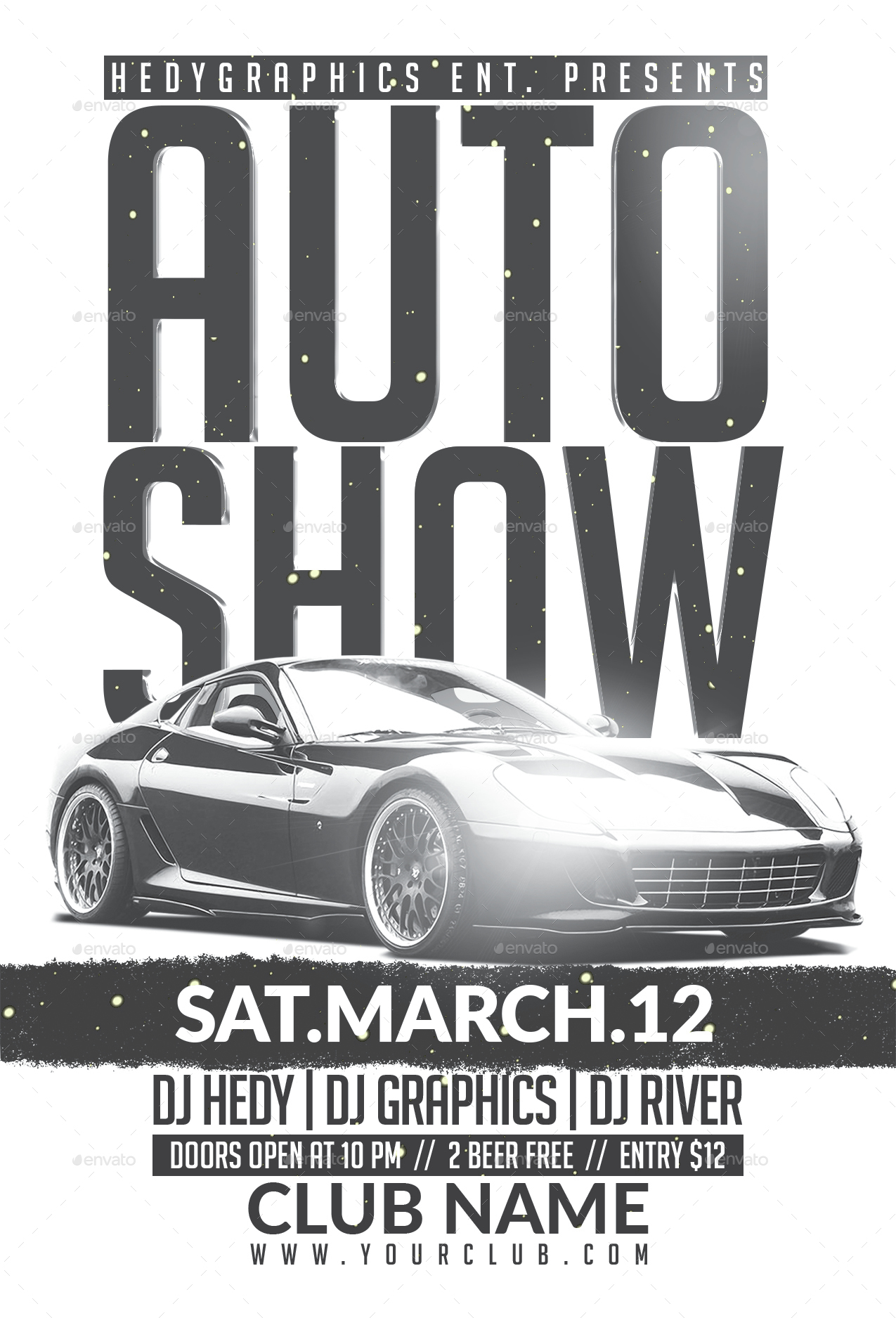 Car Show Flyer Template Goseqhtk - Car show flyer background