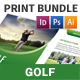 Golf Club Print Bundle - GraphicRiver Item for Sale