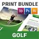 Golf Club Print Bundle - GraphicRiver Item for Sale