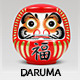 Daruma - vector of Japanese traditional doll - GraphicRiver Item for Sale