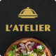 L'Atelier - Elegant Restaurant PSD Template - ThemeForest Item for Sale
