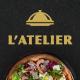 L'Atelier - Elegant Restaurant PSD Template - ThemeForest Item for Sale