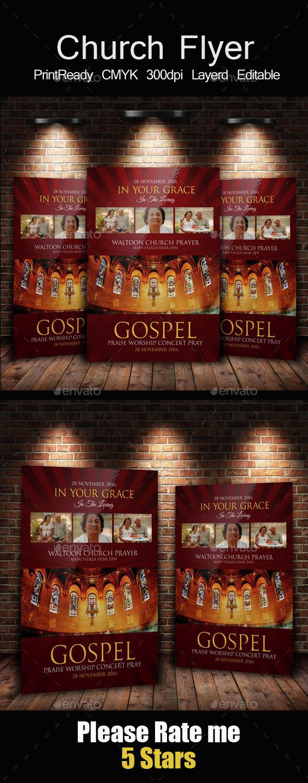 Women of Faith Church Flyer Templates - Church Flyers