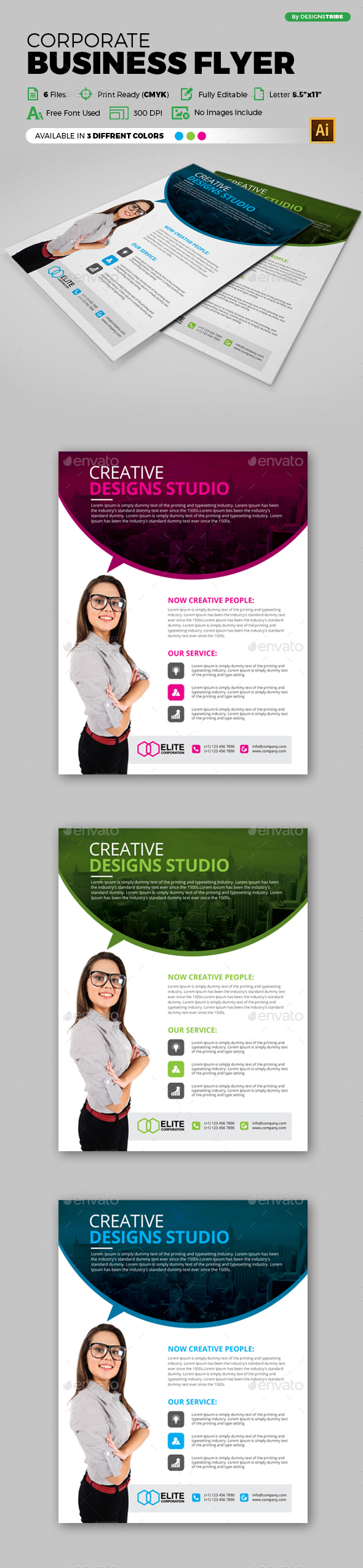 Flyer – Multipurpose 122 - Corporate Flyers