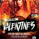 Valentines Electro DJ Flyer - GraphicRiver Item for Sale