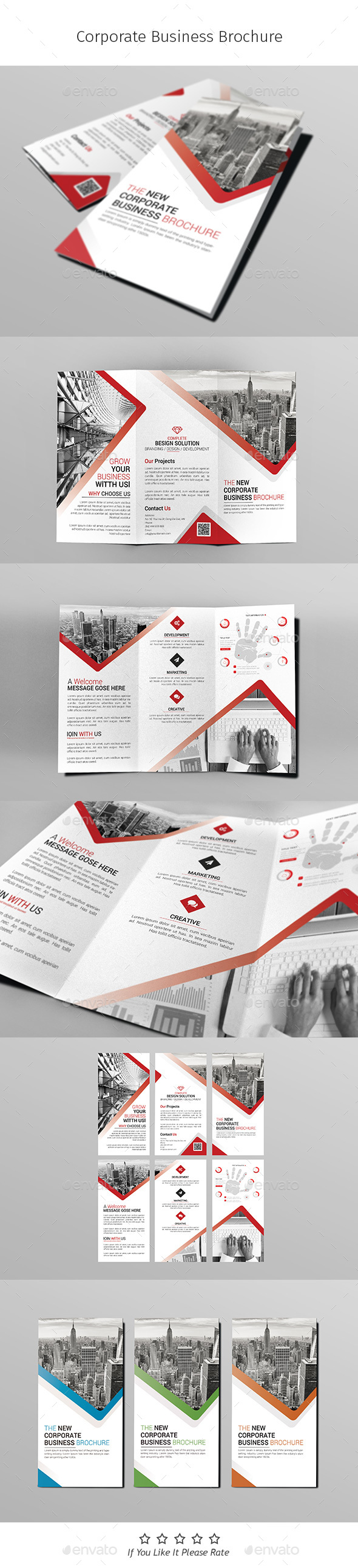 A4 Corporate Business Flyer Template Vol 09 - Corporate Brochures