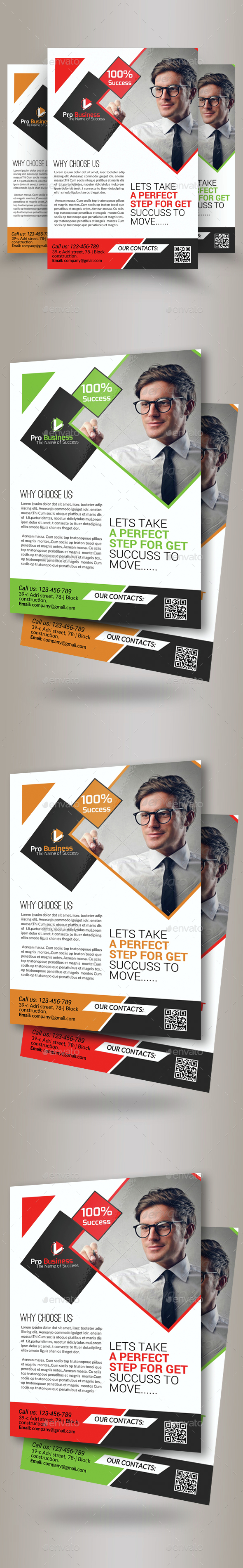 Marketing Consulting Business Flyer Template - Corporate Flyers