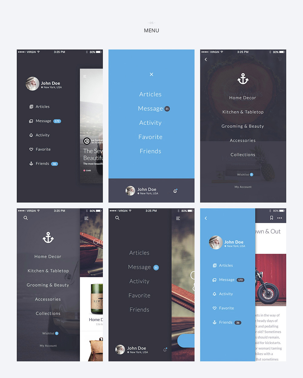 Kauf iOS UI Kit - 67+ Template for Sketch by yebocreative | ThemeForest