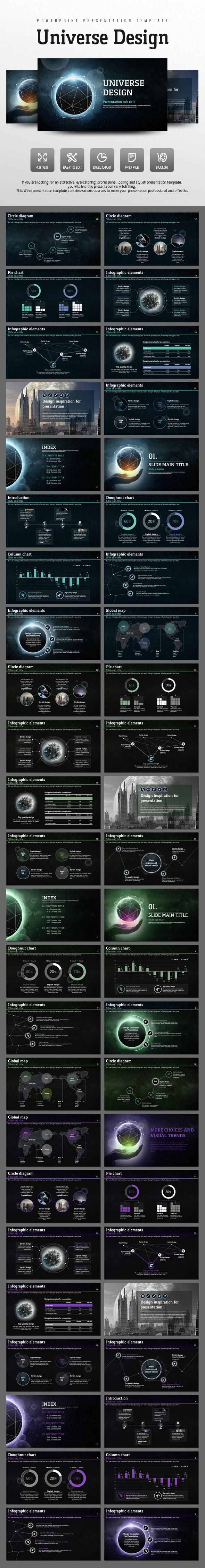 Universe Design - PowerPoint Templates Presentation Templates