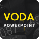 Voda - Creative Powerpoint Template - GraphicRiver Item for Sale