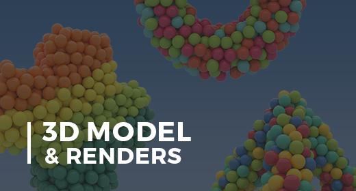 3D Model & Renders
