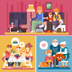 Happy Families - GraphicRiver Item for Sale