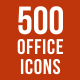 500 Office Icons Bundle - GraphicRiver Item for Sale