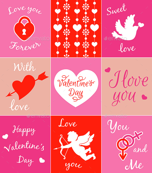 Cards for Valentine's Day  - Valentines Seasons/Holidays